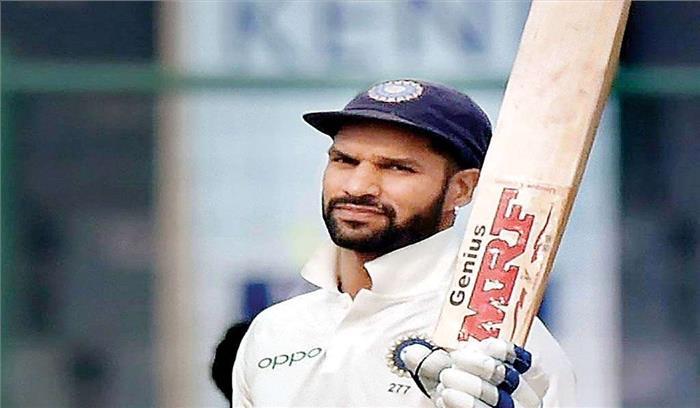 दक्षिण अफ्रीका सीरीज शुरू होने से पहले टीम इंडिया को झटका, शिखर की चोट उभरी