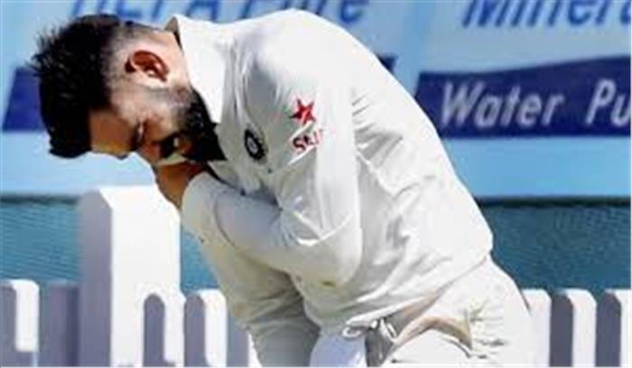 इंग्लैंड के दौरे से पहले चोटिल हुए विराट, काउंटी में खेलना भी मुश्किल