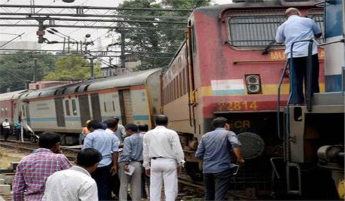 नई दिल्ली रेलवे स्टेशन पर जम्मू-राजधानी एक्सप्रेस पटरी से उतरी