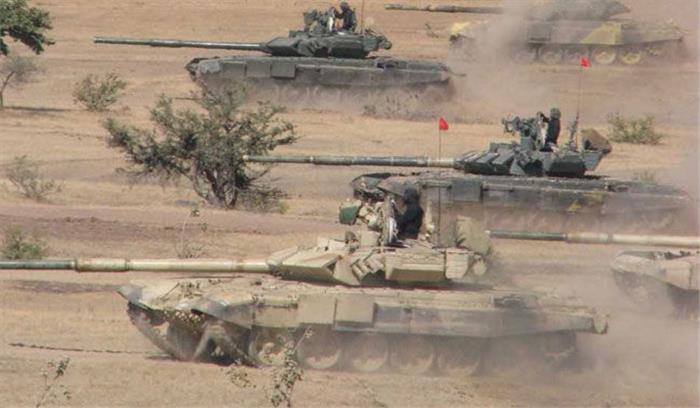 पहले चरण में चीन को पछाड़ भारतीय टैंक दूसरे चरण में अंतरराष्ट्रीय सैन्य गेम्स प्रतियोगिता से हुआ बाहर