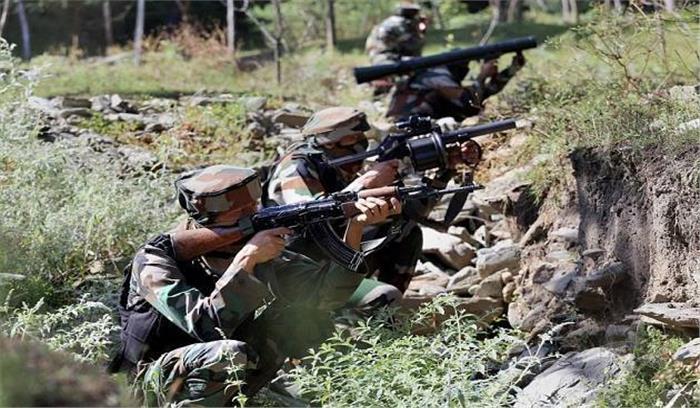 उरी में पाकिस्तान की ओर से फायरिंग जारी 145 स्नाईपर्स को लालच देकर किया तैनात सुरक्षाबल दे रहे करारा जवाब
