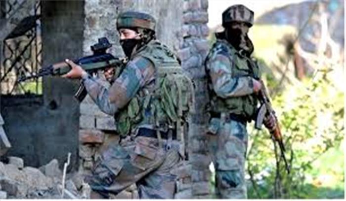 अनंतनाग में सुरक्षाबलों और आतंकियों के बीच एनकाउंटर जारी, 2 जवान घायल