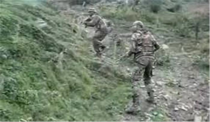 live हंदवाड़ा में सुरक्षाबलों और आतंकियों के बीच मुठभेड़ जारी सेना ने पूरे इलाके को घेरा