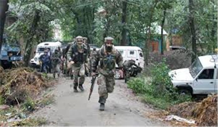 पुलवामा में सुरक्षाबलों और आतंकियों के बीच मुठभेड़, सीआरपीएफ का एक जवान शहीद, सर्च आॅपरेशन शुरू