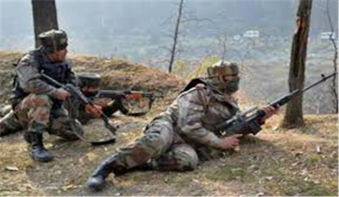 तंगधार में सुरक्षाबलों ने 5 आतंकियों को पहुंचाया उनके अंजाम तक मुठभेड़ जारी
