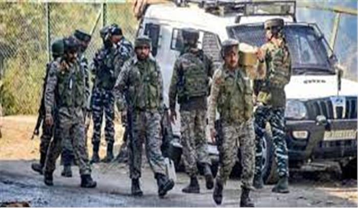 राजौरी में आतंकियों की सुरक्षाबलों संग मुठभेड़ , एक JCO समेत 5 जवान शहीद , एनकाउंटर अभी जारी