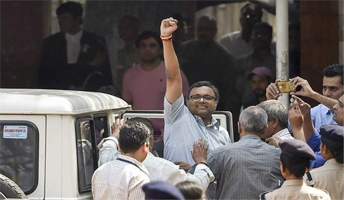मनी लाउंड्रिंग मामले में कार्ति चिदंबरम को राहत, हाईकोर्ट ने 20 मार्च तक गिरफ्तारी पर लगाई रोक