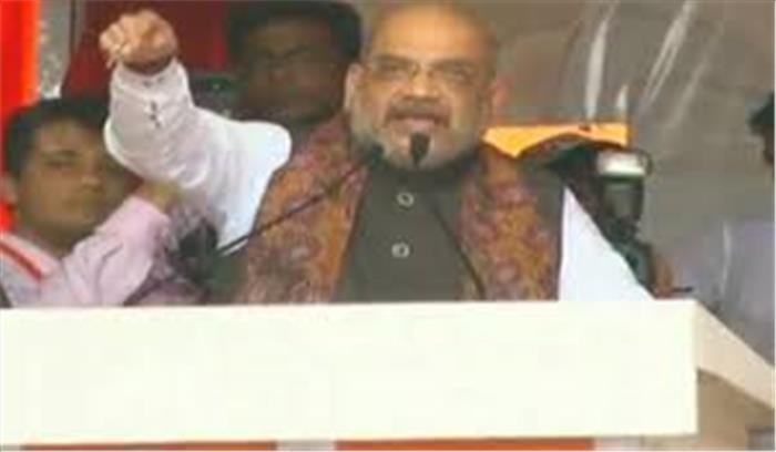 कोलकाता में ममता पर जमकर बरसे अमित शाह, कहा- विरोध करने से एनआरसी रुकने वाला नहीं