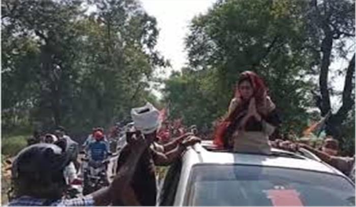 राजद के खिलाफ चुनाव प्रचार में उतरी लालू की बहु , बोलीं - जनता अपमान का बदला लेगी