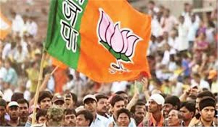 भाजपा ने कांग्रेस के दावे का किया पर्दाफाश, कहा-1 मार्च 2016 को वित्त मंत्री पूरे दिन संसद गए ही नहीं