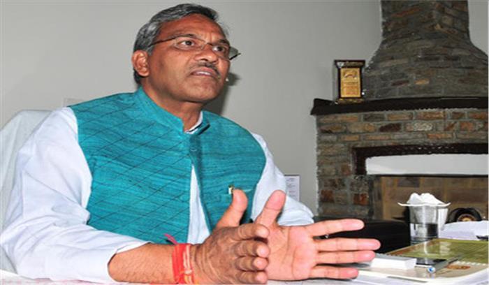 CM रावत ने परचून की दुकान में शराब मिलने वाली खबरों को बताया महज अफवाह, कहा-फैलाई जा रहीं झूठी खबरें