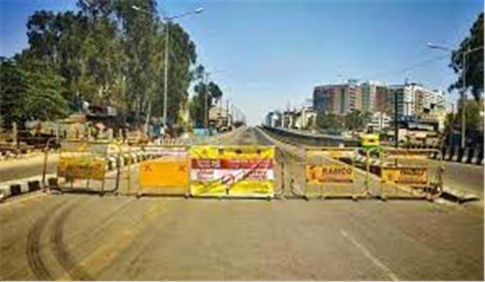 महाराष्ट्र में बढ़ा कोरोना संकट , नागपुर में 15 - 21 मार्च तक फुल लॉकडाउन , जरूरी सामान के लिए ही छूट