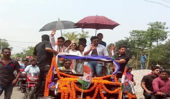 बांग्लादेशी सुपरस्टार ने किया TMC प्रत्याशी के लिए चुनाव प्रचार , गृहमंत्रालय ने सिलीगुड़ी प्रशासन से मांगी रिपोर्ट
