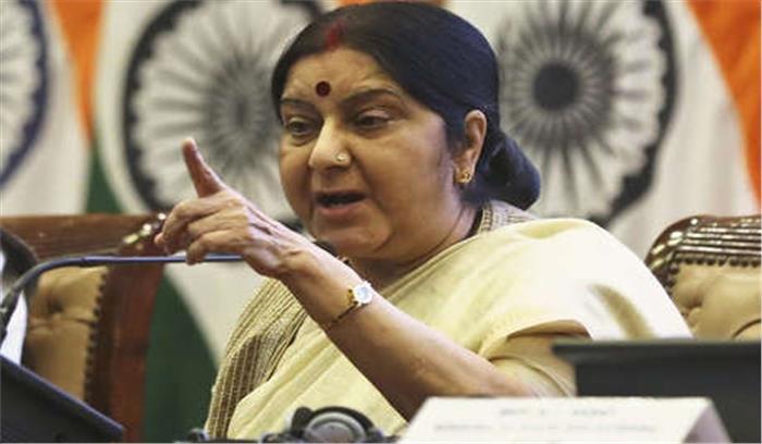 सुषमा स्वराज की राहुल गांधी को नसीहत , भाषा की मर्यादा रखने की कोशिश करें, आडवाणी जी - हमारे पिता तुल्य