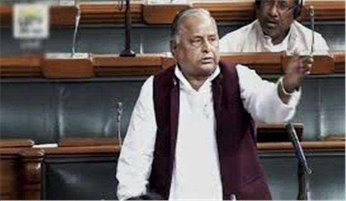Breaking News - मुलायम सिंह PM मोदी पर फिदा , कहा- आपने सबका साथ सबका विकास किया , मेरी कामना आप फिर से बनें प्रधानमंत्री
