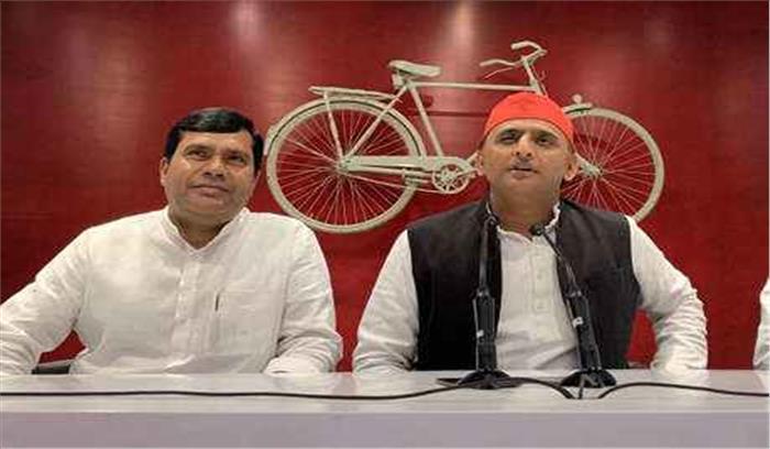 समाजवादी पार्टी ने मिर्जापुर से अपना उम्मीदवार बदला , भाजपा छोड़ आए सांसद को बनाया प्रत्याशी