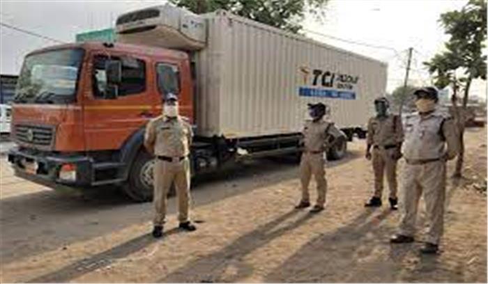 MP में कोवैक्सीन से भरा ट्रक लावारिस अवस्था में मिला , चालक मोबाइल झाड़ियों में फेंक लापता