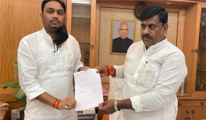 मध्य प्रदेश में उपचुनावों से पहले कांग्रेस को फिर झटका , विधायक ने पार्टी छोड़ भाजपा का कमल पकड़ा