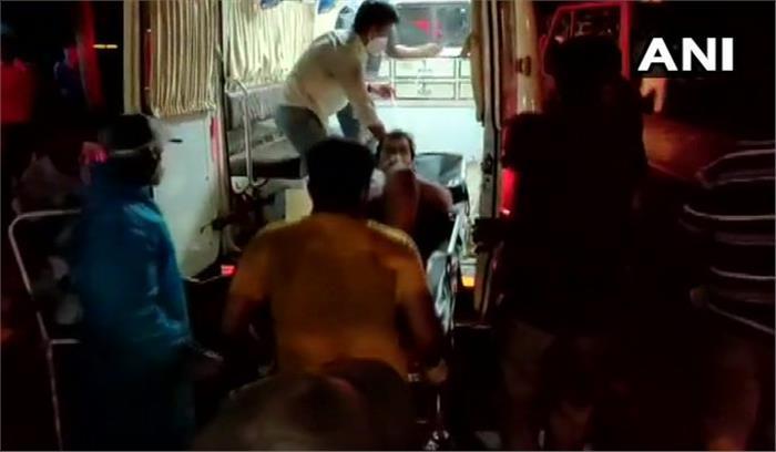 कोरोना का कहर - दिल्ली के गंगाराम अस्पताल में 24 घंटे में 25 की मौत , पालघर में कोविड सेंटर में आग ,13 की मौत