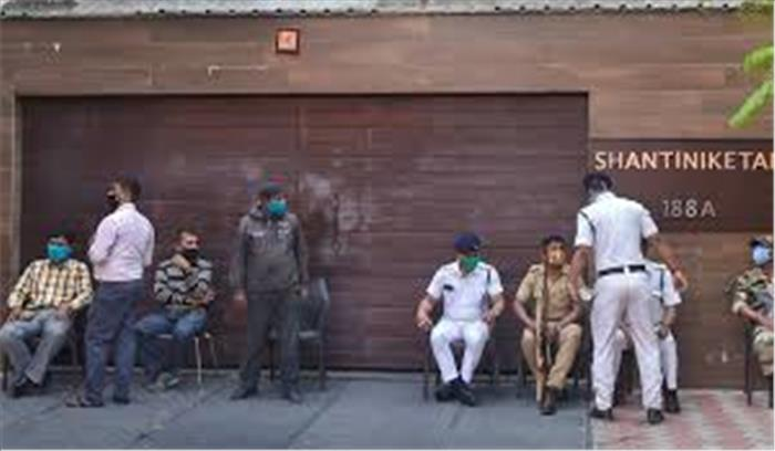 ममता के भतीजे के घर पहुंची CBI टीम , अभिषेकी की पत्नी रुजिरा से कोयला तस्करी मामले में पूछताछ