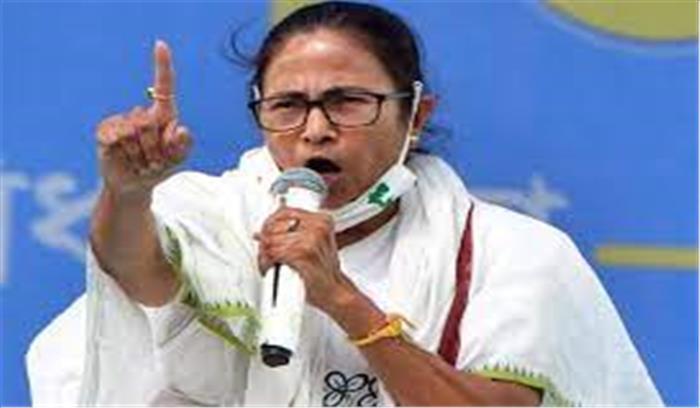 बंगाल चुनाव - ममता बनर्जी को EC का नोटिस , मुस्लिम वोटरों को रिझाना महंगा पड़ा
