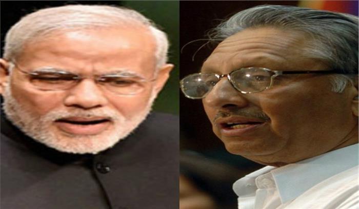 गुजरात चुनाव के बीच मणिशंकर अय्यर के विवादित बोल, प्रधानमंत्री को बताया 'नीच किस्म का आदमी'