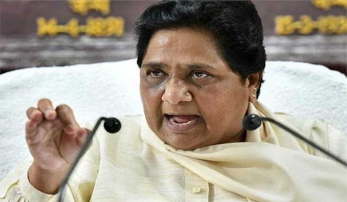 मायावती का PM मोदी पर