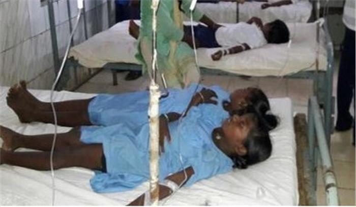 स्कूल में बच्चे असुरक्षित, मिड-डे-मील खाने के बाद 150 बच्चे पड़े बीमार, कुछ लड़कियां गंभीर