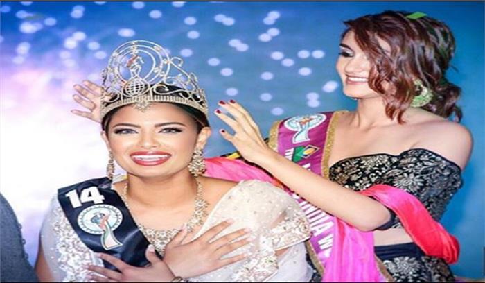भारतीय मूल की मधु वल्ली ने दिखाया अपनी खूबसूरती का जलवा, जीता मिस इंडिया वर्ल्डवाइड 2017 का खिताब