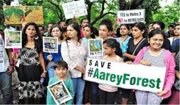 LIVE - आरे में बवाल के बीच 800 पेड़ कटे , इलाके में धारा 144 लागू , कई लोग हिरासत में लिए गए