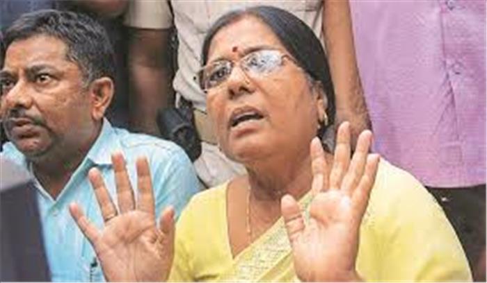 मुजफ्फरपुर बालिका गृह कांडः पूर्व मंत्री मंजू वर्मा की बढ़ सकती हैं मुश्किलें, पटना और बेगूसराय के घरों पर सीबीआई की छापेमारी