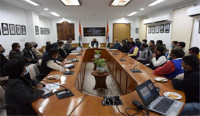 कृषि मंत्री नरेंद्र तोमर बोले - 2022 तक किसानों की आय दोगुनी करने की दिशा में कदम है कृषि बिल