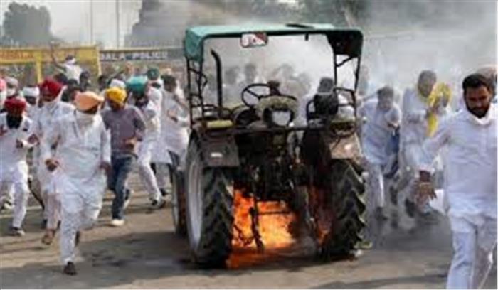 किसान आंदोलन LIVE - सरकार ने दोहराया कृषि बिल वापस नहीं लेंगे , थोड़ी देर में फिर 8वें दौर की बैठक