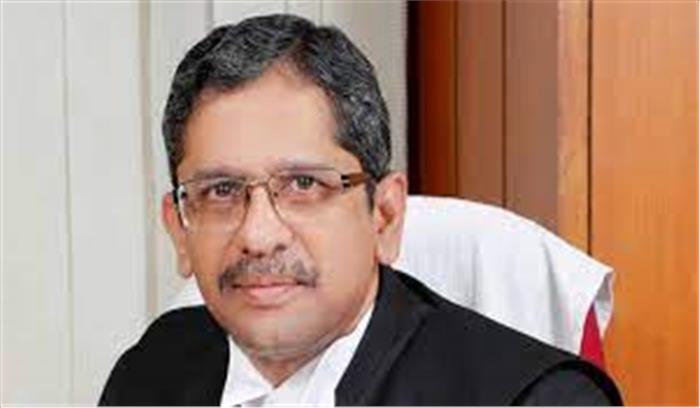 जस्टिश एनवी रमना होंगे देश के नए मुख्य न्यायाधीश , राष्ट्रपति ने किया 16 महीने के लिए नियुक्त , जानें नए CJI के बारे में