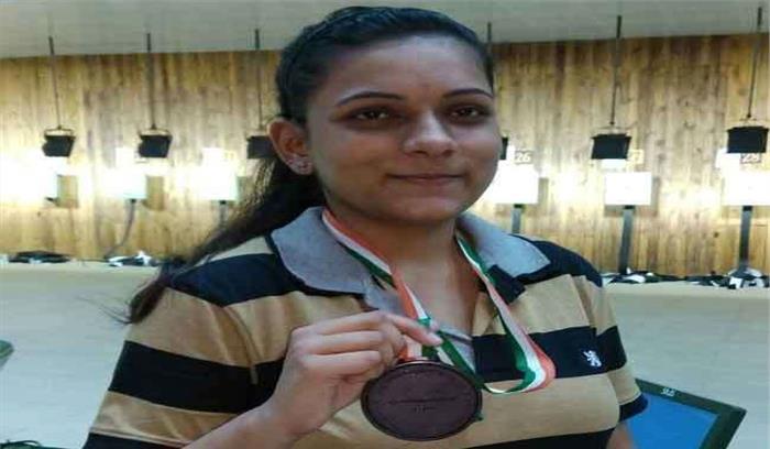 राष्ट्रीय निशानेबाजी प्रतियोगिता में ऋषिकेश की आस्था ने किया कमाल, जीता कांस्य पदक