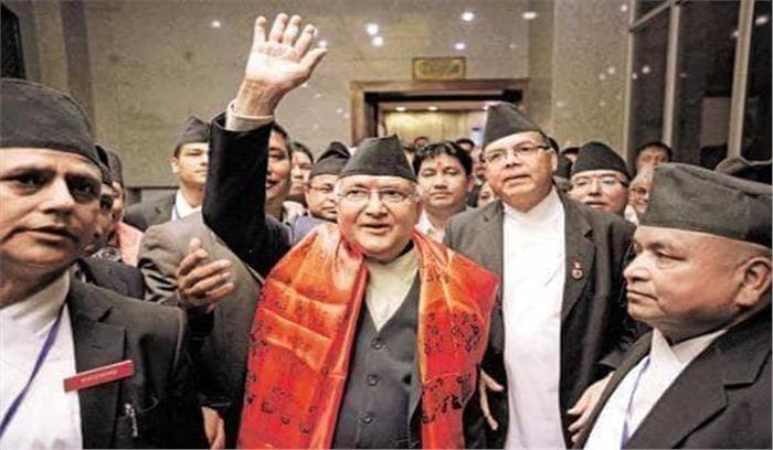 नेपाल के नए राजनीतिक नक्शे ने बढ़ा विवाद , तीन भारतीय इलाकों को अपने नक्शे में दर्शाया