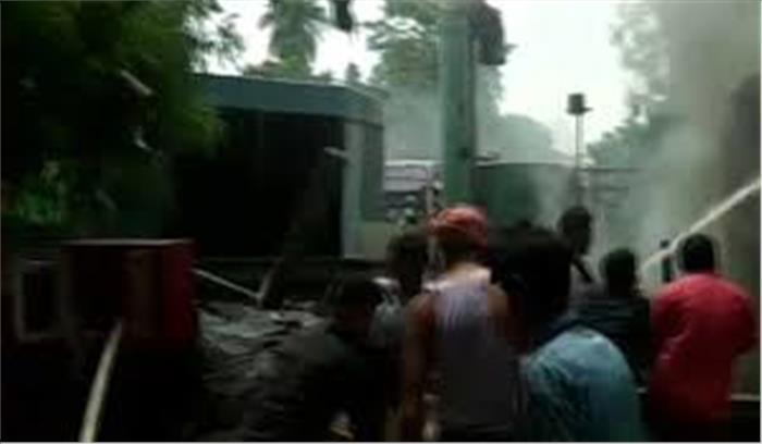 दूरदर्शन के एसी प्लांट में लगी आग, दमकल की 8 गाड़ियों ने कड़ी मशक्कत के बाद पाया काबू