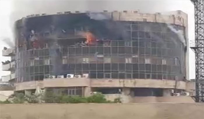 दिल्ली में स्वास्थ्य विभाग की इमारत में