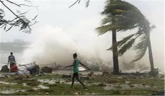 ओडिशा में 'डेई' तूफान ने दी दस्तक, मछुआरों को समुद्र में न जाने की चेतावनी