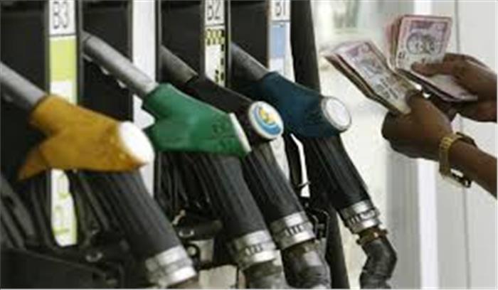 तेल की 'धार' में तेजी जारी, पेट्रोल की दर में 28 पैसे का इजाफा डीजल भी 22 पैसे बढ़ा
