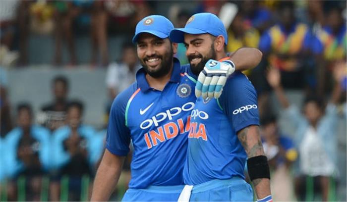 श्रीलंका के खिलाफ होने वाले एक दिवसीय मैचों के लिए टीम का हुआ ऐलान, विराट को आराम, रोहित होंगे कप्तान