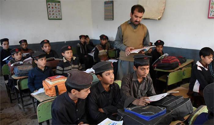 पाकिस्तान में स्कूली बच्चों को पढ़ाया जा रहा भारत के खिलाफ वाला