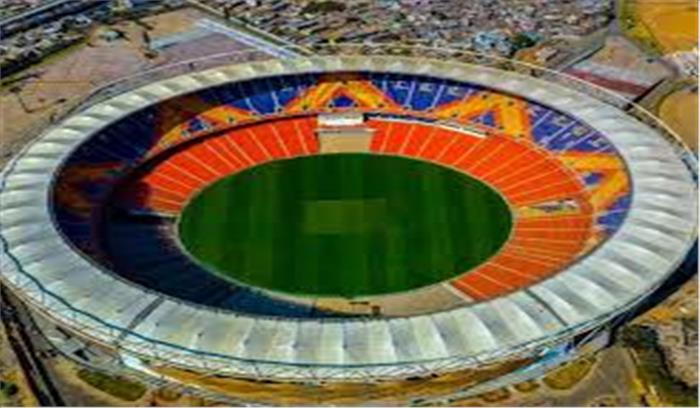 प्रधानमंत्री नरेंद्र मोदी के नाम पररखा गया दुनिया के सबसे बड़े क्रिकेट स्टेडियम का नाम