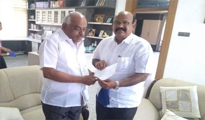 कर्नाटक सरकार कुछ दिन की मेहमान!, कांग्रेसी विधायक उमेश जाधव ने दिया इस्तीफा, जा सकते हैं भाजपा में