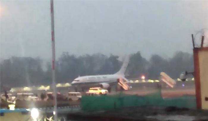 रुद्रपुर में जनसभा को संबोधित करने पीएम मोदी पहुंचे देहरादून एयरपोर्ट , खराब मौसम के चलते एयरपोर्ट पर ही फंसे