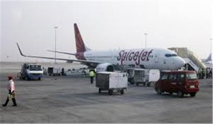स्पाइसजेट के विमान में 22 जिन्दा कारतूस मिलने से हड़कंप, सुरक्षाकर्मियों ने शख्स को किया गिरफ्तार