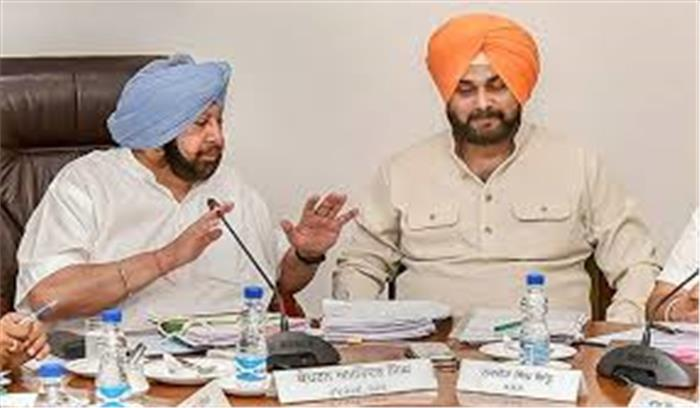कांग्रेस की फिर आफत , अब पंजाब में अरमिंदर के खिलाफ बगावत , 25 विधायक शिकायत लेकर दिल्ली पहुंचे