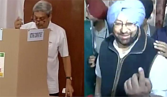 पंजाब में डेढ़ बजे तक 40% तो गोवा में 53% हुआ मतदान