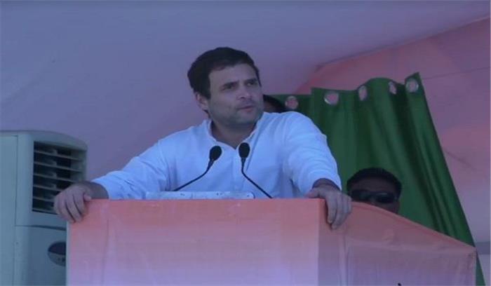 हिन्दुस्तान को वो ही चला सकता है जो हिन्दुस्तानियों की बात सुनता हो - राहुल गांधी