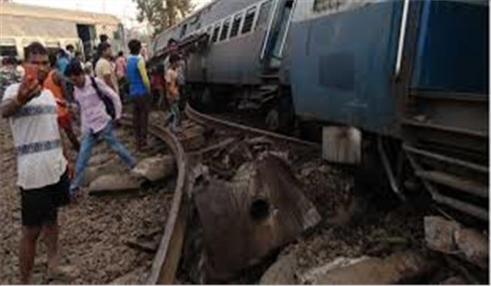मालदा से दिल्ली आ रही न्यू फरक्का एक्सप्रेस के इंजन समेत 9 डिब्बे पटरी से उतरे, 5 यात्रियों की मौत दर्जनों घायल